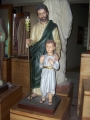 St. Joseph the worker w/standing child 40""